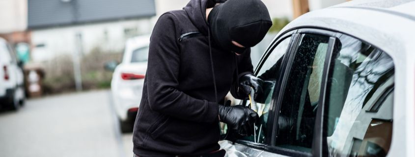 Vehicle crime rise UK