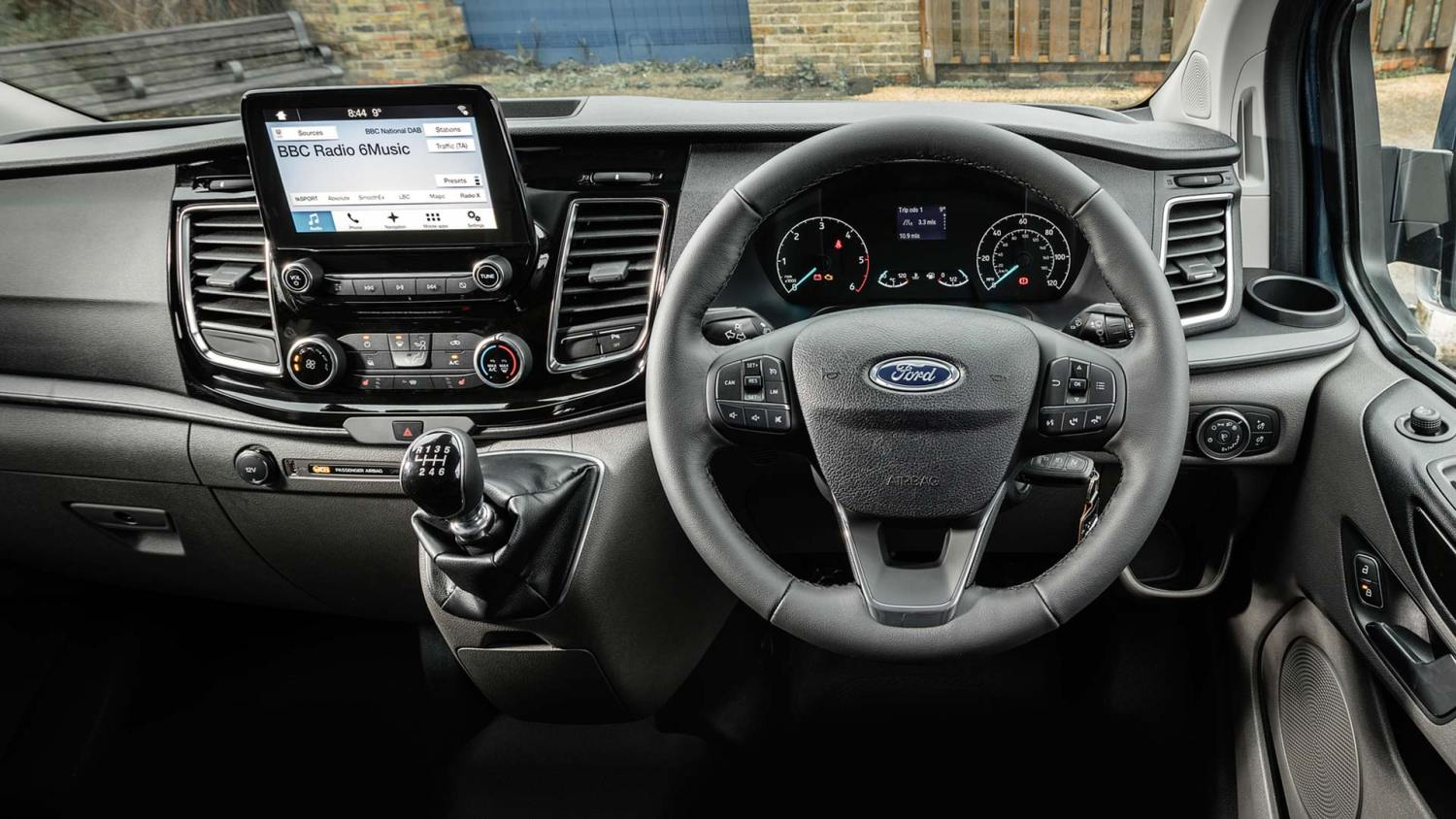 2019 Ford Transit with EcoGuide Smart Gauge