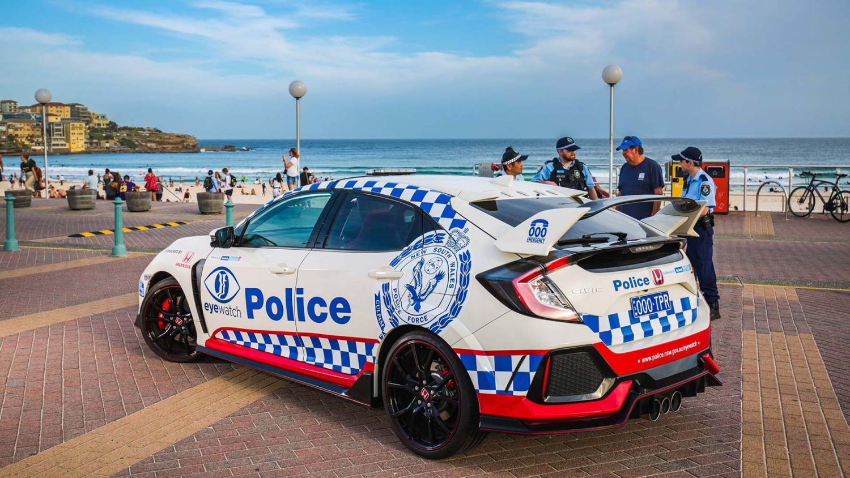 Honda Australia Civic Type R Police Car