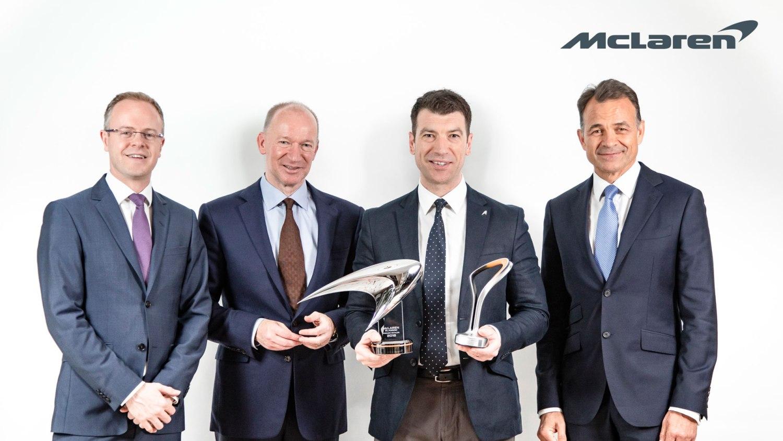 McLaren Glasgow European best