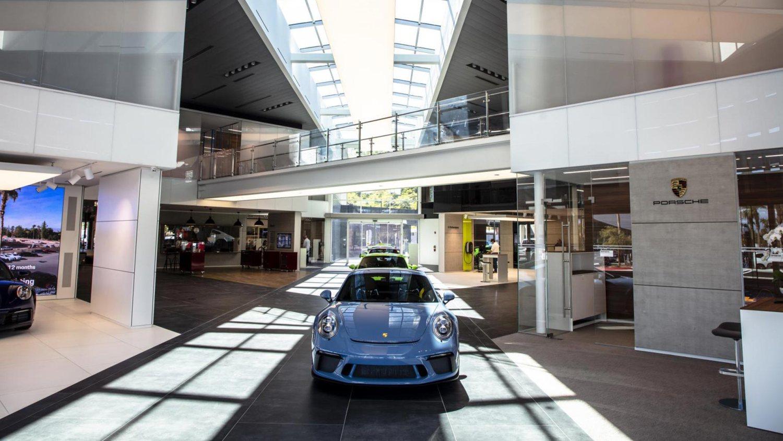 Porsche dealerships get brand-new prototype look