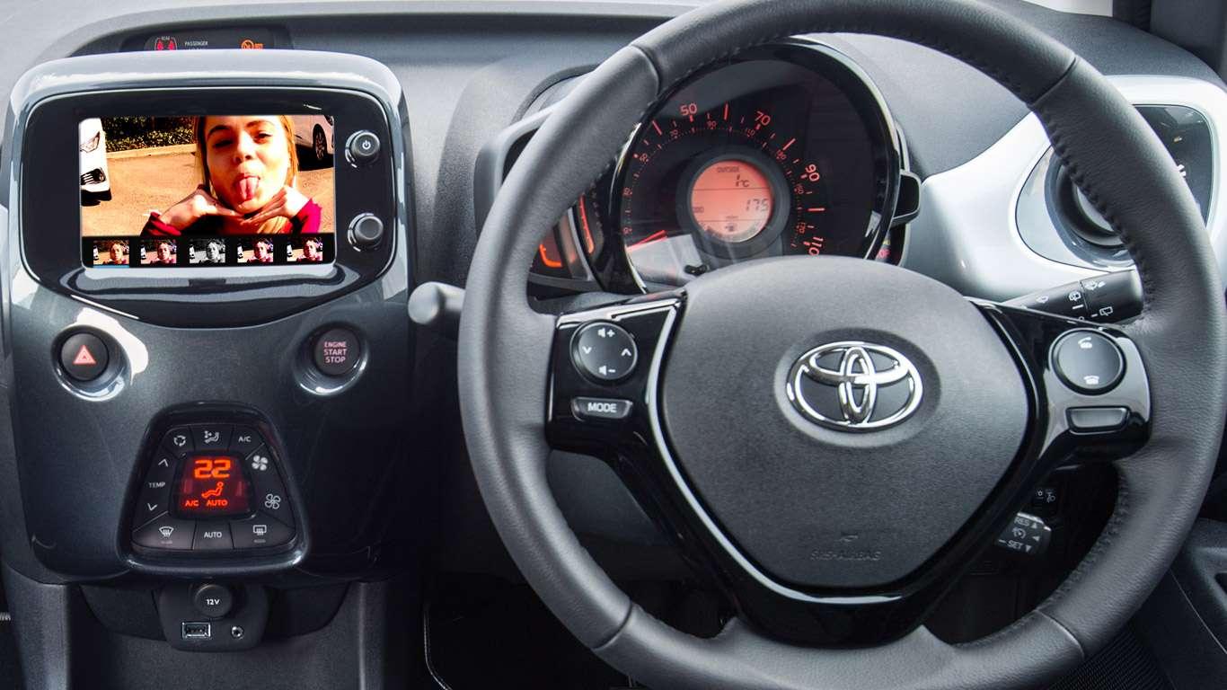 Toyota Instagram April Fools' Day