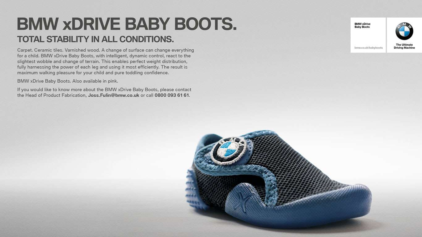 BMW xDrive Baby Boots