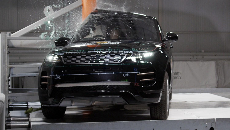 NCAP test Range Rover Evoque