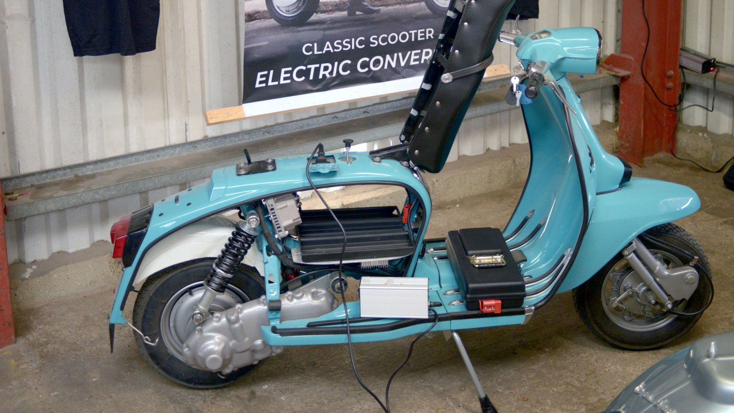 Electric Italian scooter