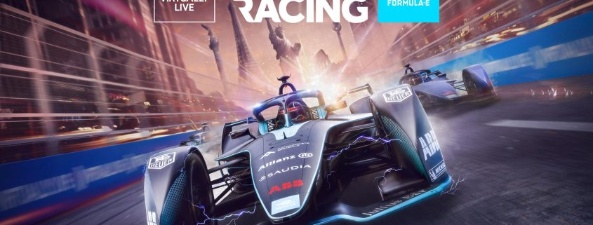 Formula E Virtually Live Ghost Racing
