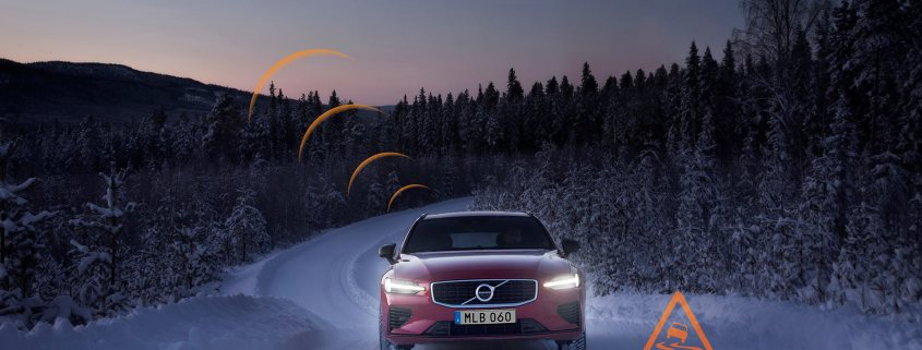 New Volvos warn each other of bad weather