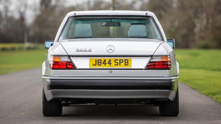 Rowan Aktinson Mercedes rear