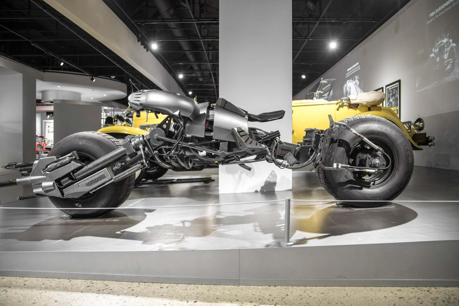 The Dark Knight and The Dark Knight Rises Batcycle