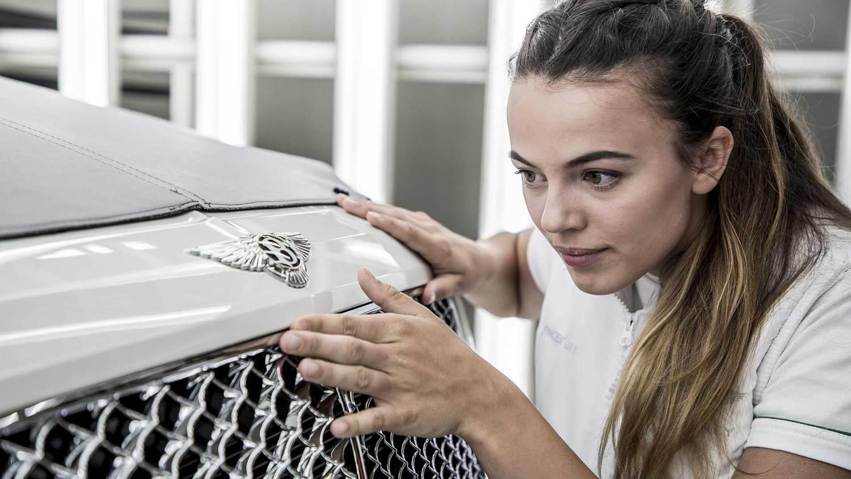 Bentley Motors assembly line