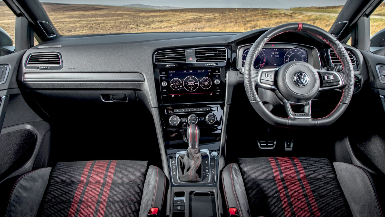 Volkswagen Golf GTI TCR interior