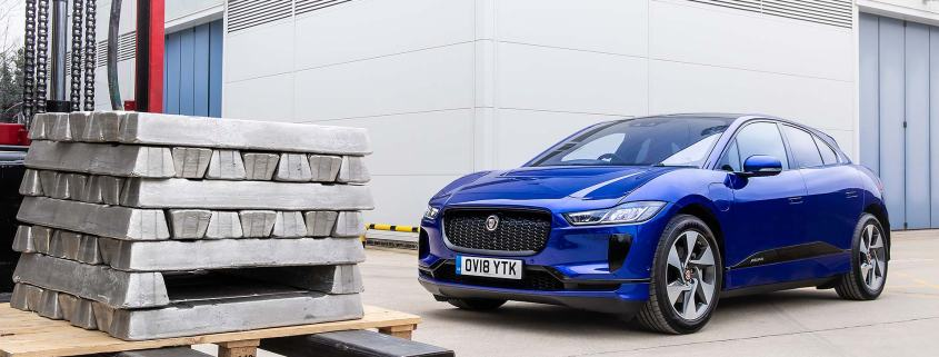 Jaguar I-Pace Reality aluminium recycling project