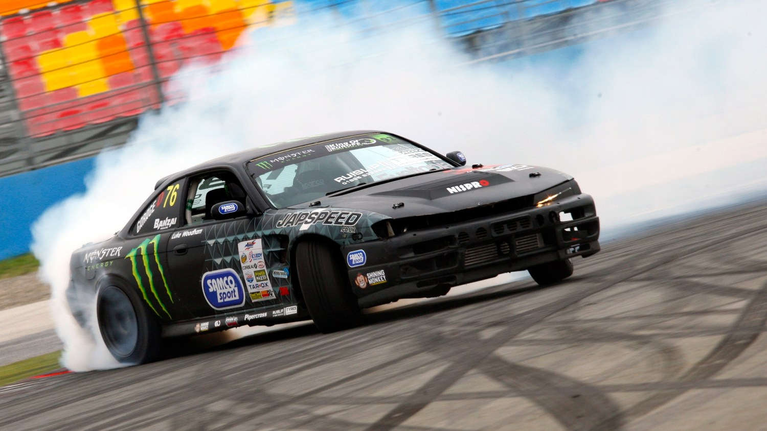 Drifting driving experience popularity is up