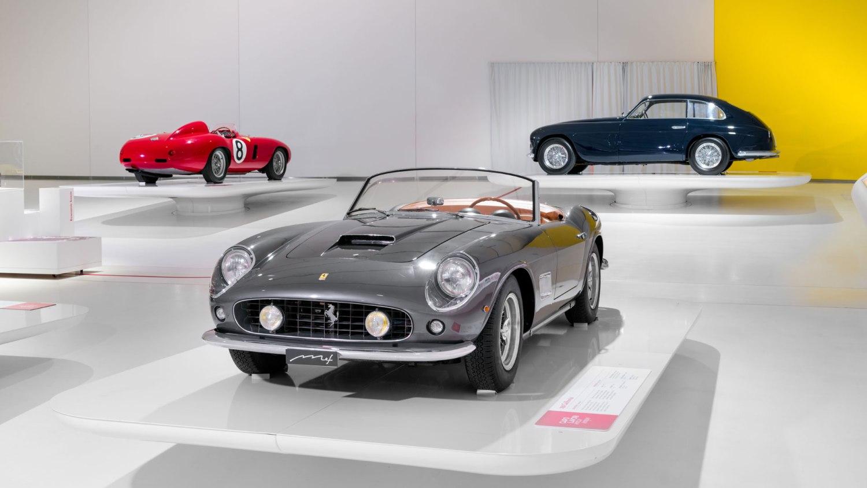 Ferrari 250 California at Museo Enzo Ferrari Modena