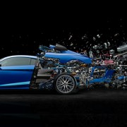 Audi R8 exploded view