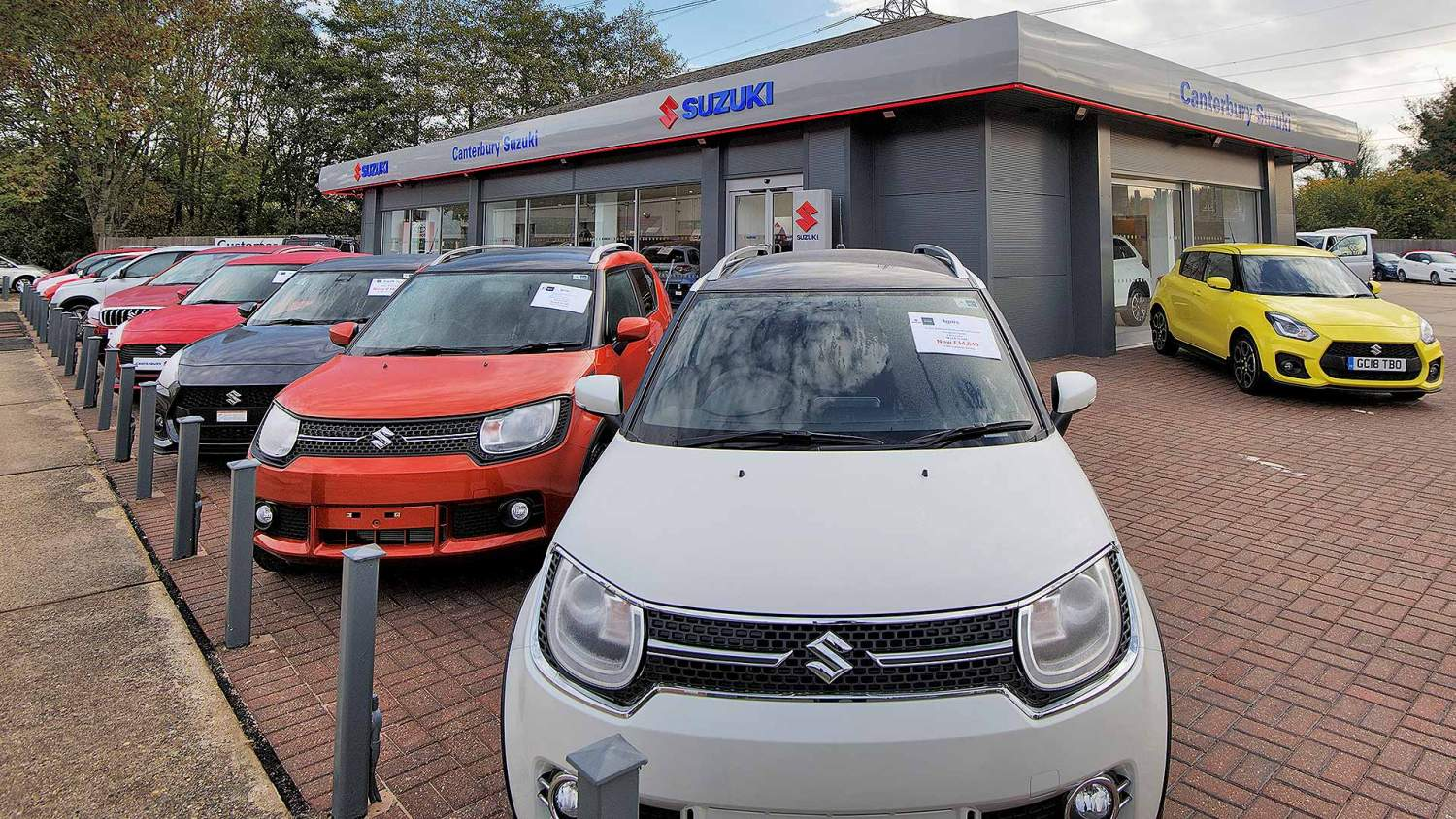 Canterbury Suzuki car dealer