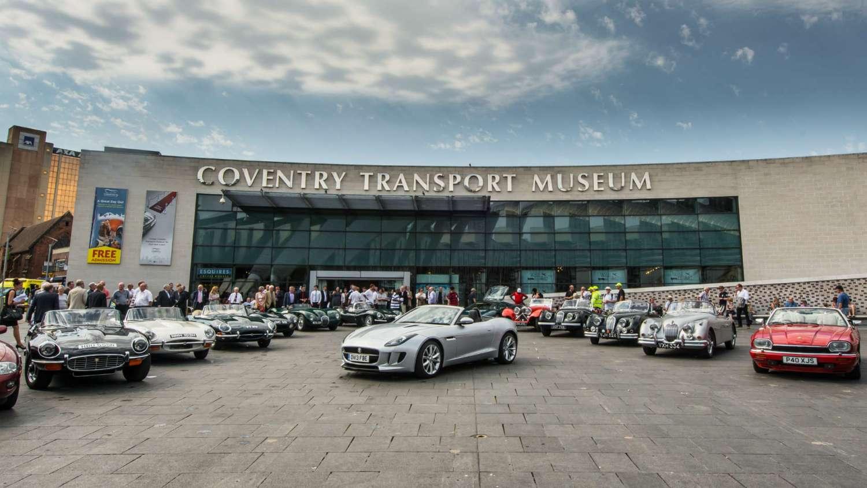 Jaguars at Coventry Transport Museum