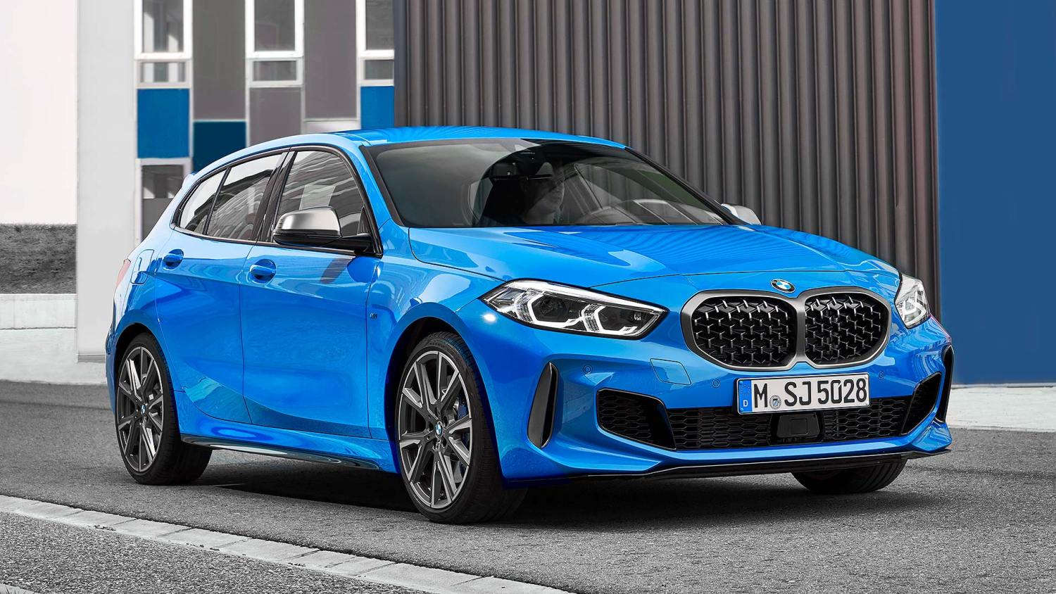 New BMW M135i xDrive