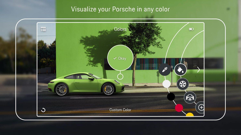 Porsche AR 3D Configurator App