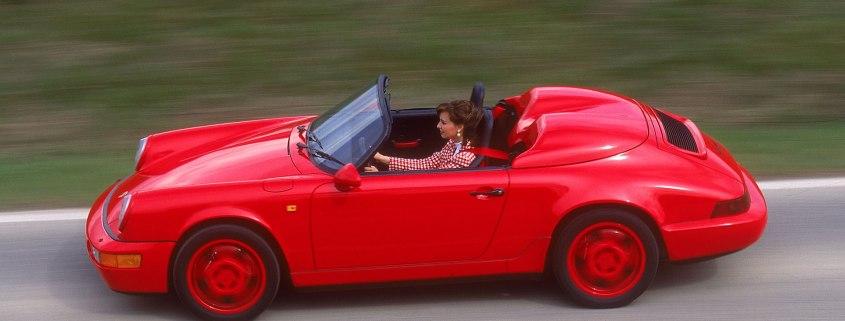 Porsche Speedster history