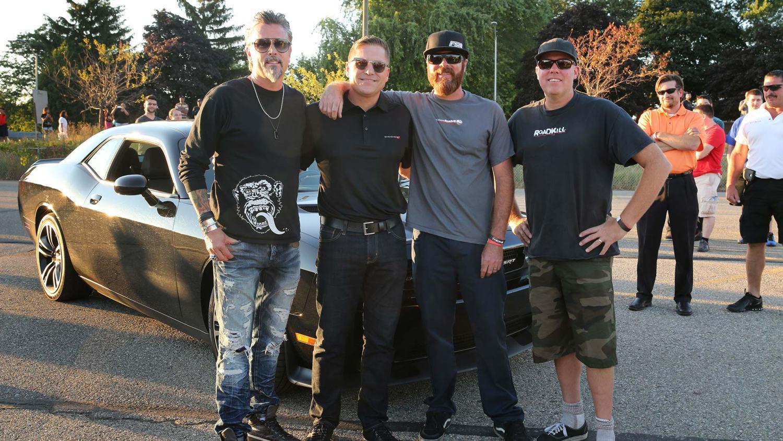 Richard Rawlings stolen Dodge Hellcat found