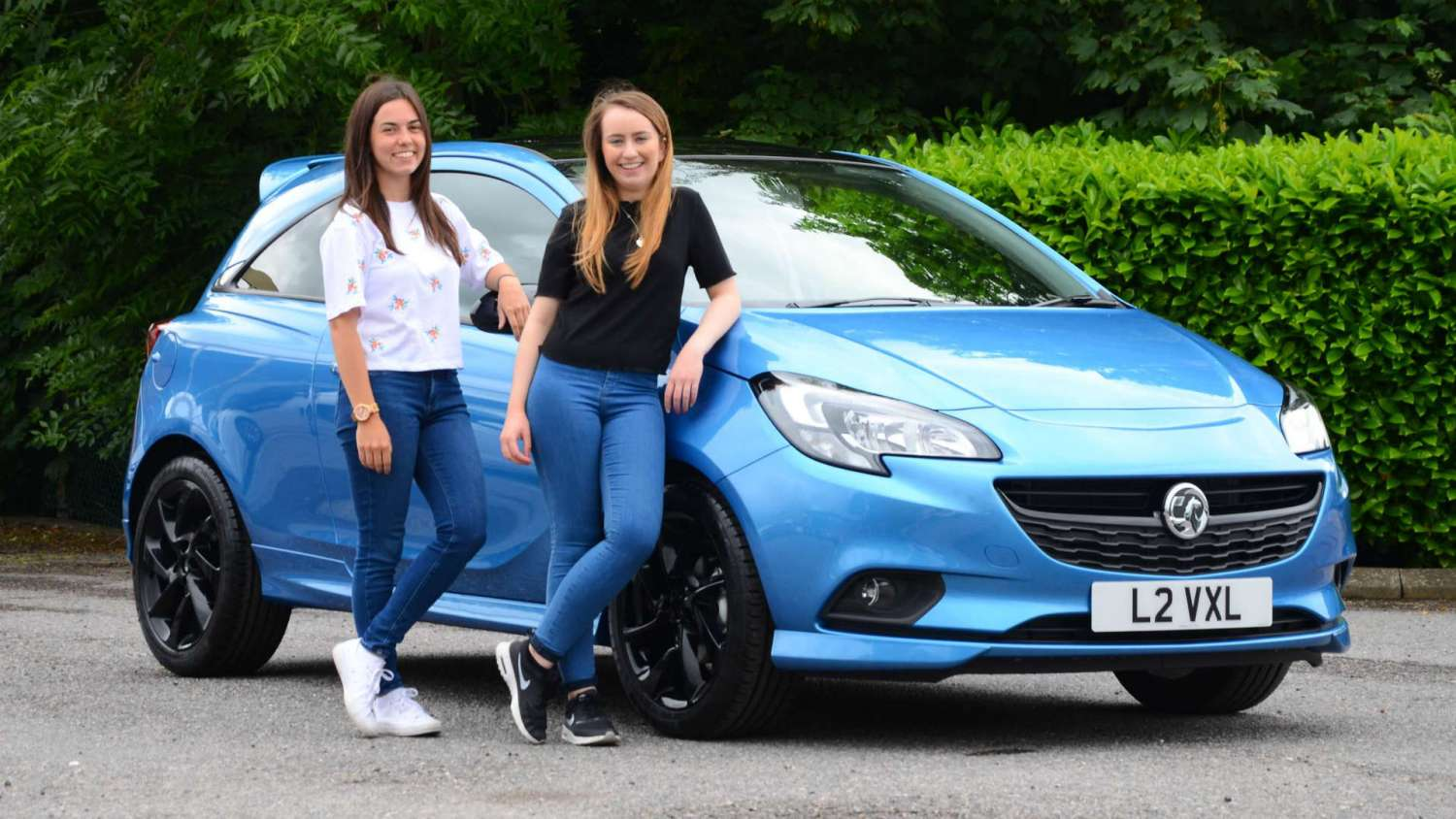 young drivers Vauxhall Corsa