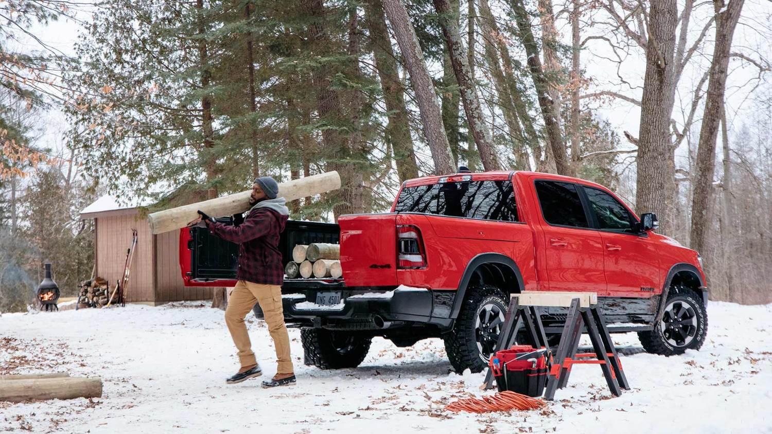 2019 Ram 1500 is best truck for New England winters