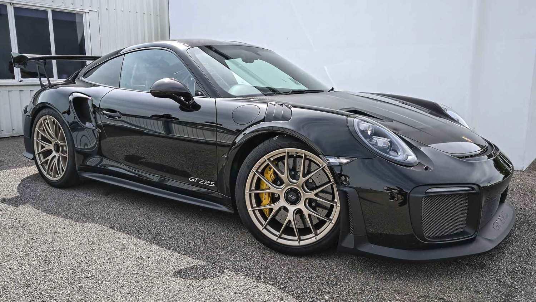 Porsche 911 GT2 RS at Goodwood Supercar Sunday