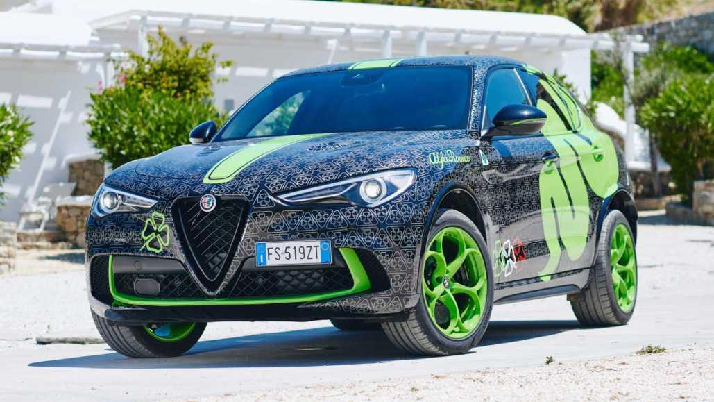 Custom Alfa Romeo Stelvio Quadrifoglio to star in Gumball 3000