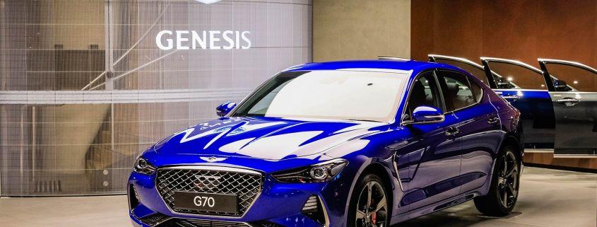 Genesis luxury brand launches in Australia