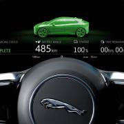 Jaguar I-Pace green icon