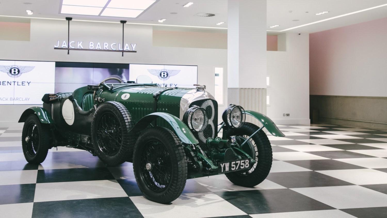 Bond's Bentley heading to Jack Barclay Bentley