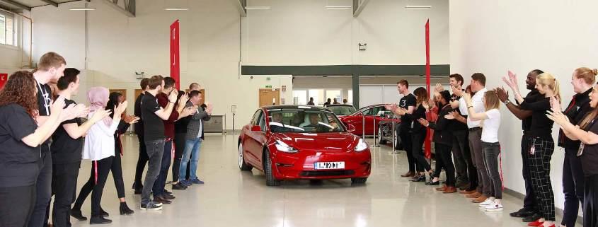 Tesla Model 3 UK