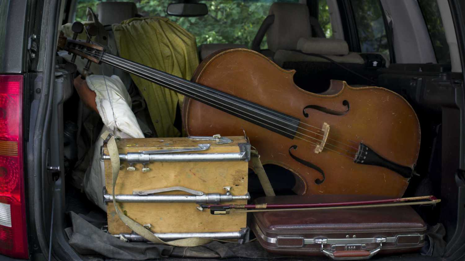 Musical instruments taken on a test drive