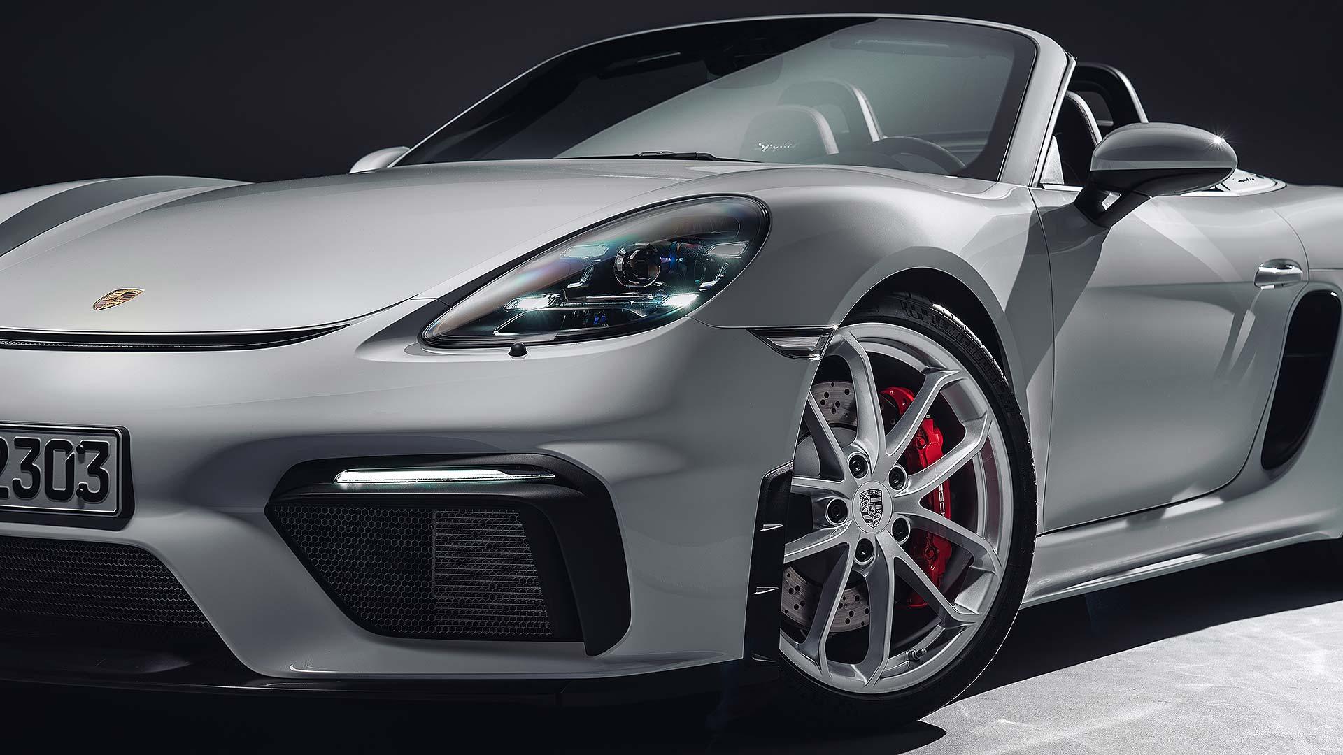 Porsche 718 Spyder   Motoring Research