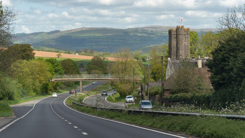 The A38 in Devon