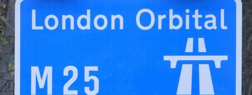 M25 London Orbital motorway