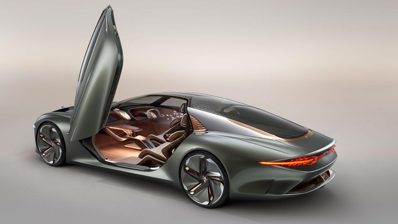 Bentley EXP 100 GT doors