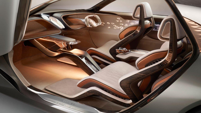 Bentley EXP 100 GT cabin