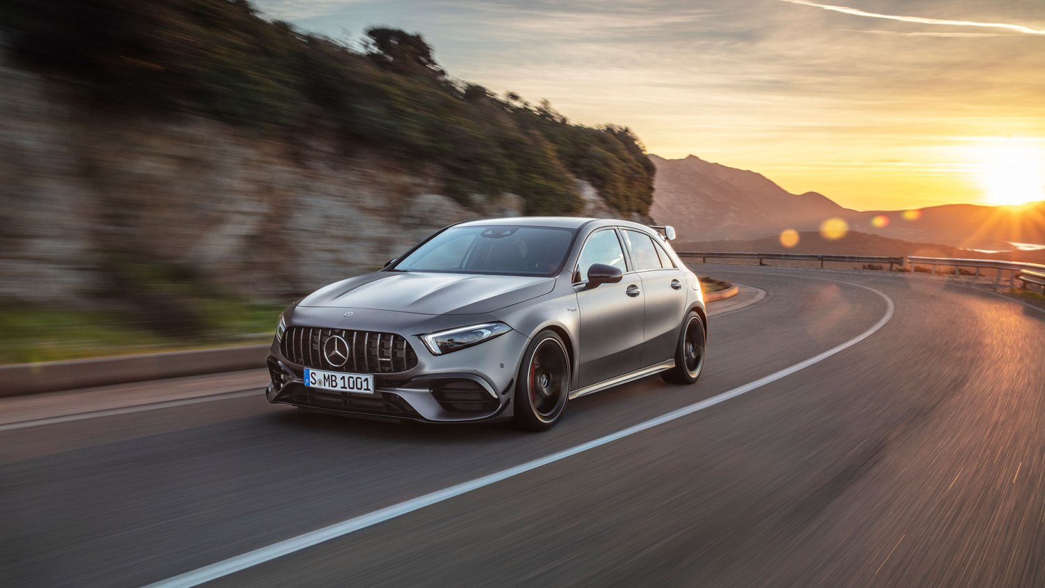 ferocious 421hp mercedes amg a 45 and cla 45 debut at goodwood. Black Bedroom Furniture Sets. Home Design Ideas