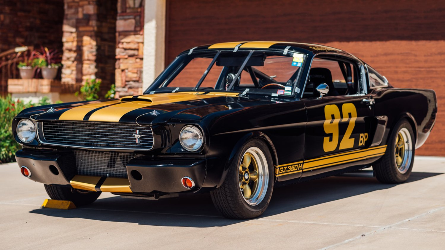 BaT 1966 Shelby GT350H Race Car