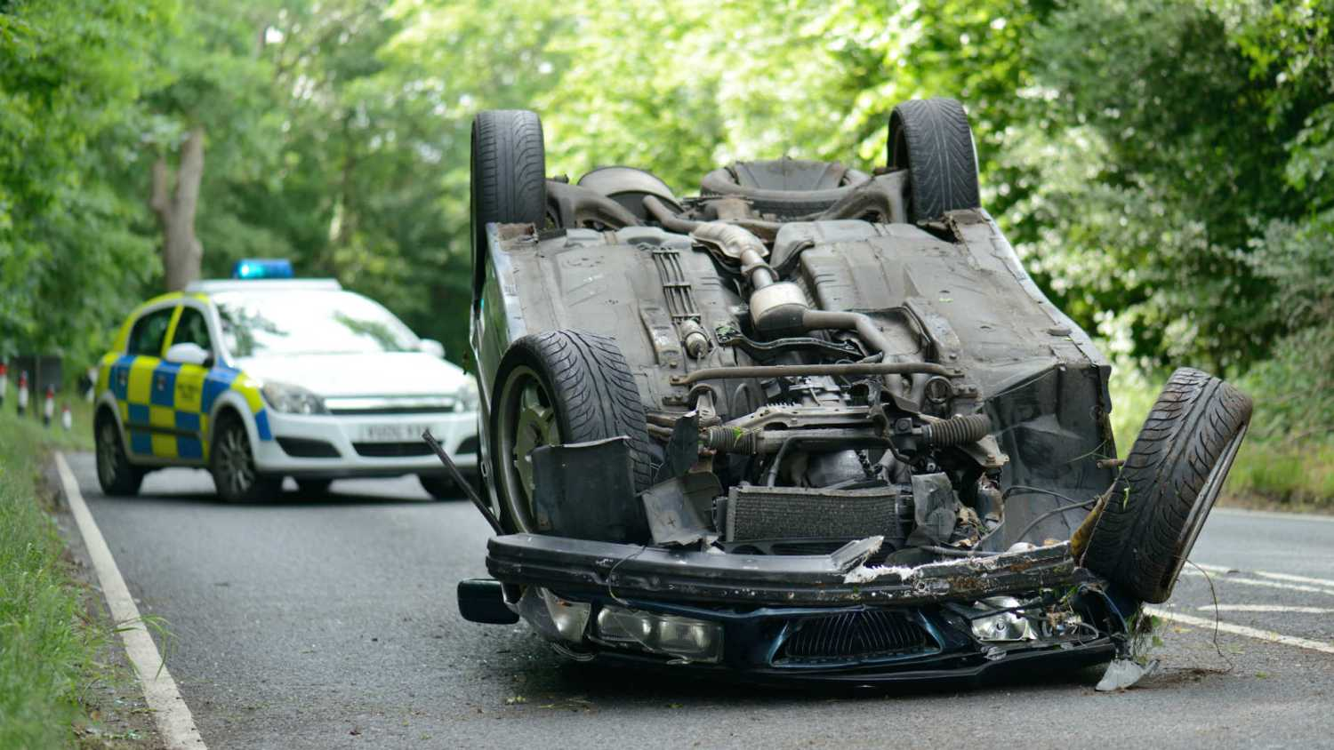 Crash as a result of drug-driving