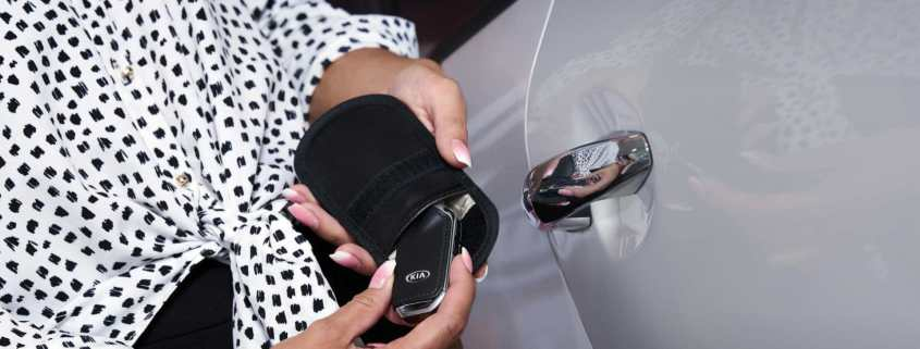 Kia joins fight against keyless car theft