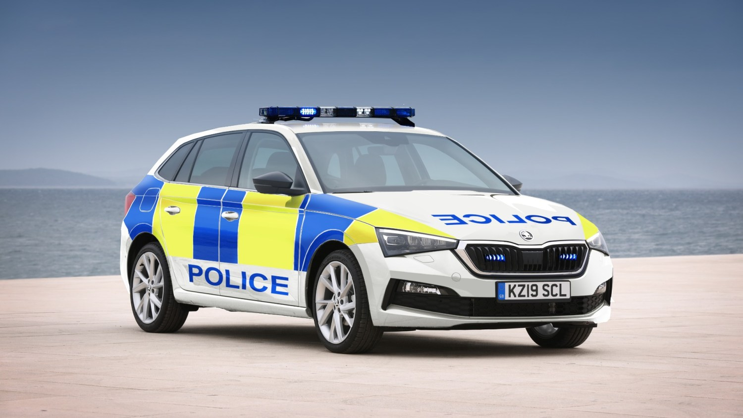Skoda Scala now available to Police and other services