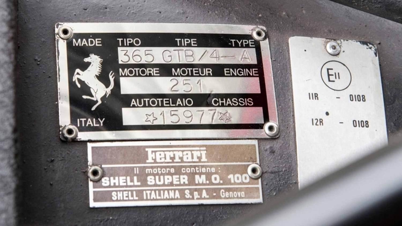 Elton John Ferrari Daytona