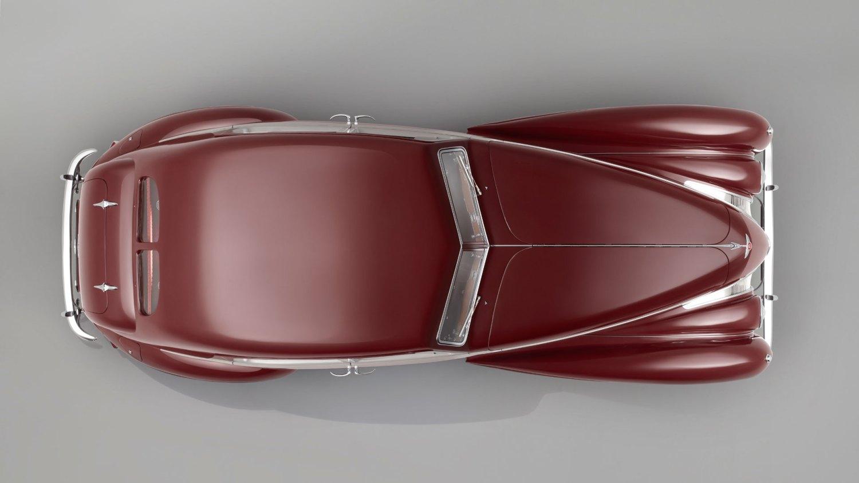 Bentley Corniche overhead