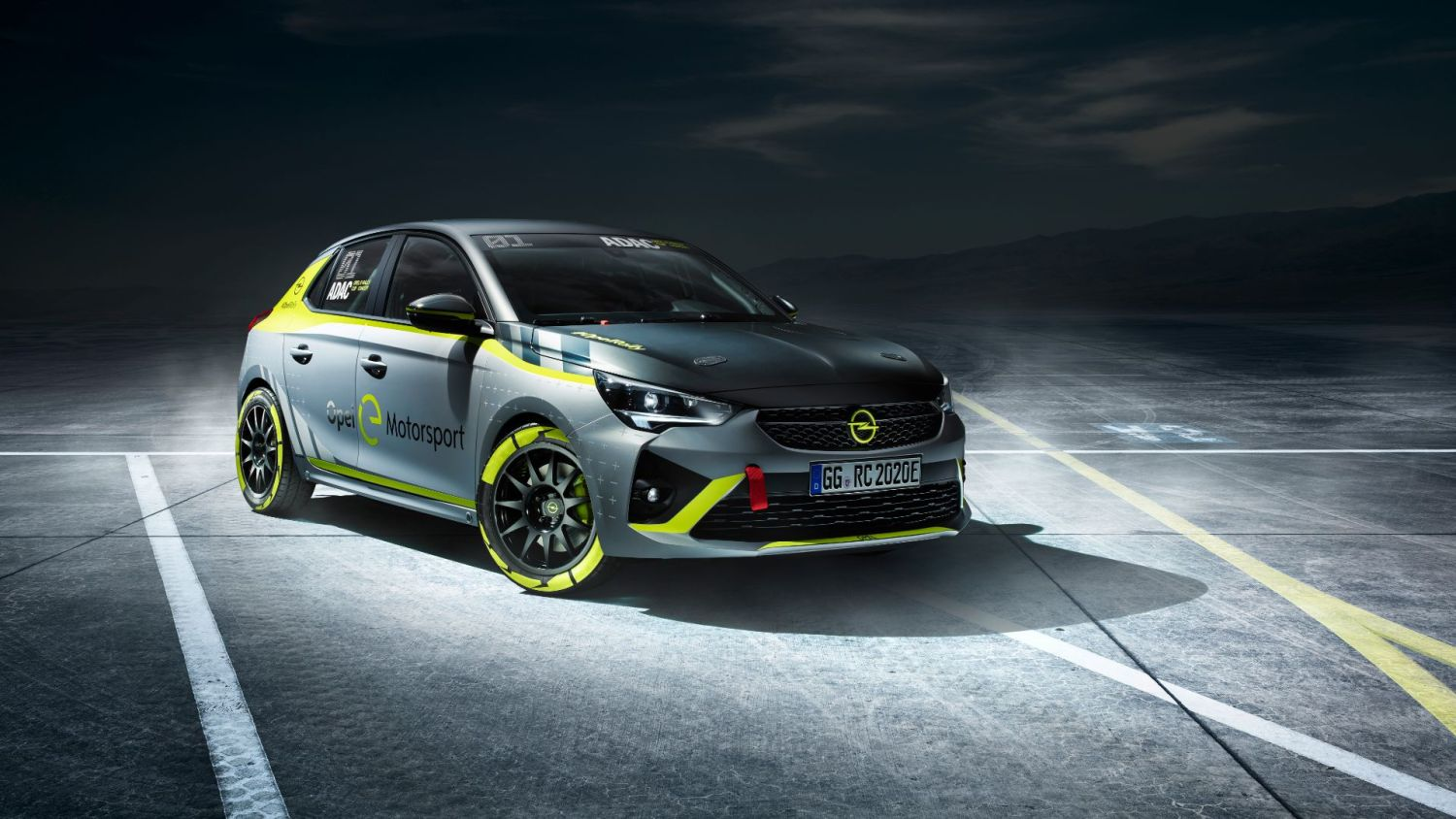 Corsa-E Rally racer debut at Frankfurt