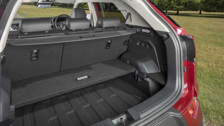 New SsangYong Korando boot
