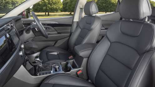 New SsangYong Korando interior