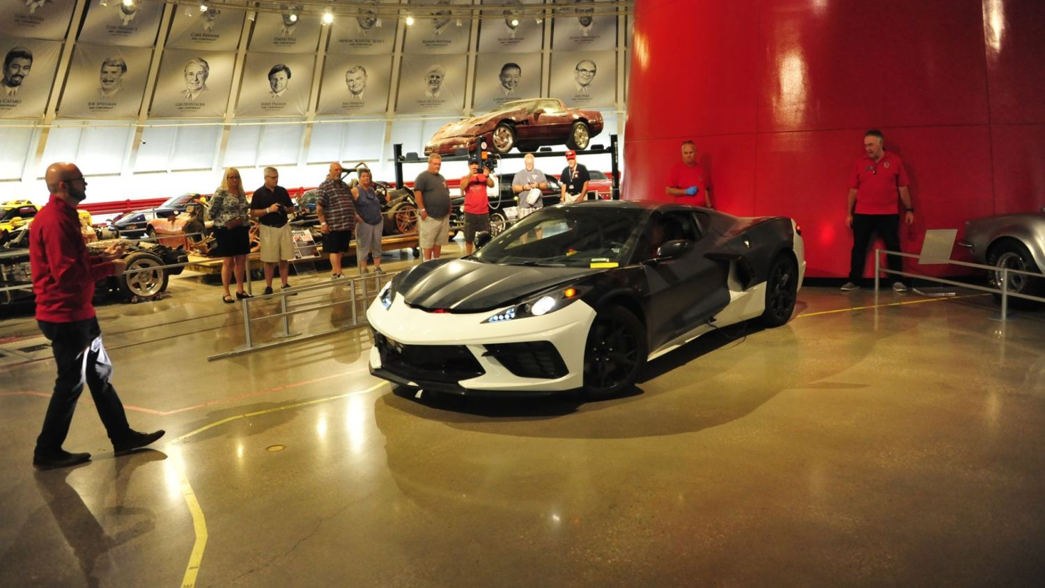 Corvette Museum takes delivery of a prototype C8